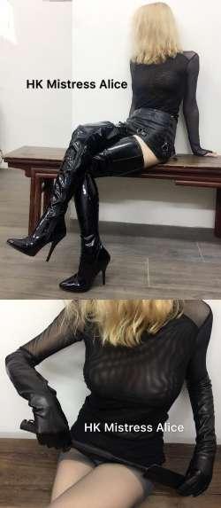 HK Mistress Alice  from Hong Kong - Mistress